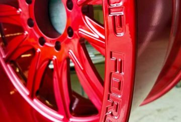 Forged Red Wheels